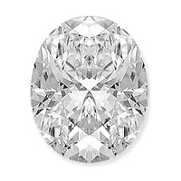 118.28 carat white oval diamond