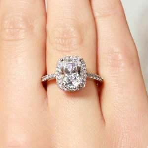 2 carat enement rings - 2 Carat Wedding Ring