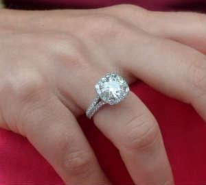 3 Carat Diamond Ring for engagement 6b0d077ed