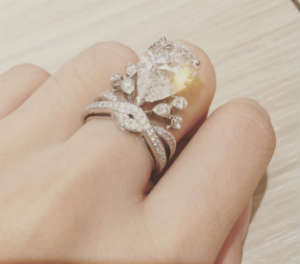 Meet the Kim Kardashian of China whose engagement ring has an