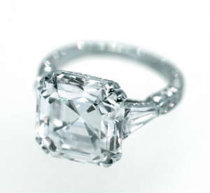 6 carat diamond ring, D flawless