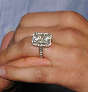 9 carat diamond ring