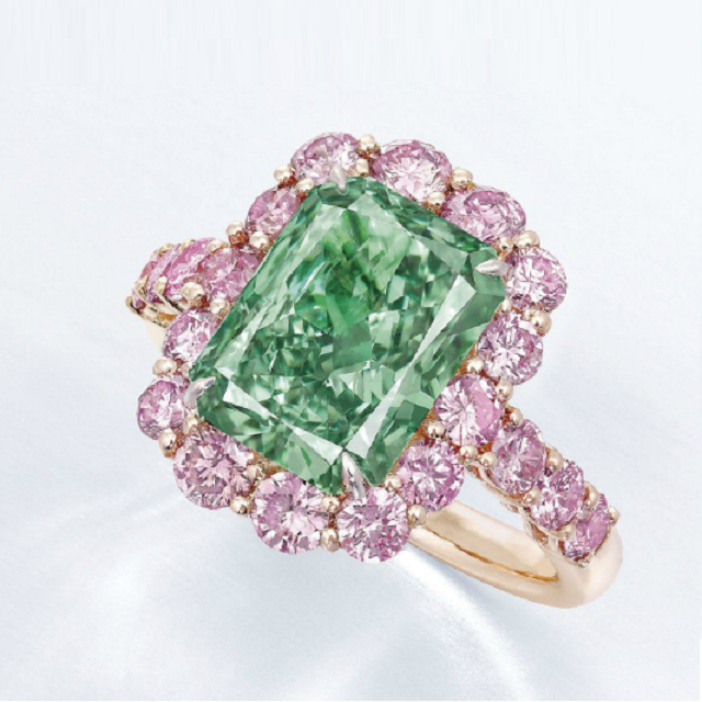 The Aurora Green diamond	$16.8 million
