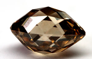 Chocolate diamond colored