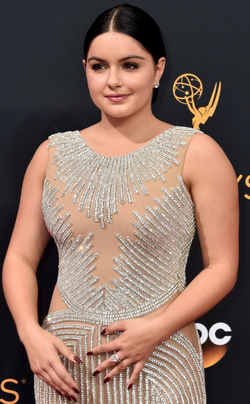 """Modern Family"" star Ariel Winter Diamond Jewelry"