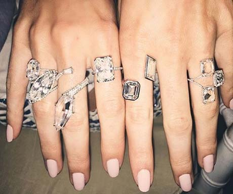Diamonds Rings Kendall Jenner