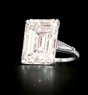 emerald cut engagement rings - Emerald Cut Wedding Rings