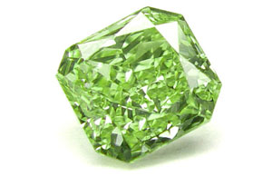 Green Diamond Fancy Color