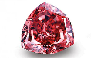 Red Diamond Fancy Color