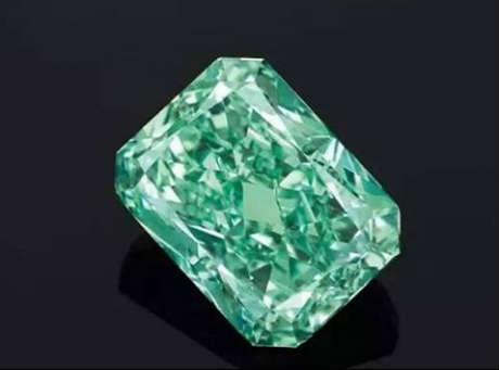 largest vivid green diamond