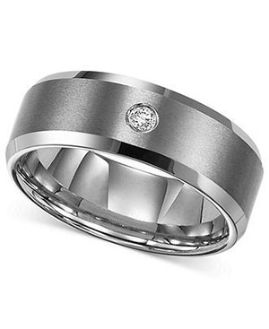 Men's diamond rings solitaire