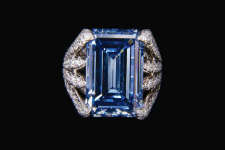Most Expensive Jewel Ever Auctioned The Oppenheimer Blue