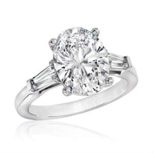 Oval one of the best diamond cut