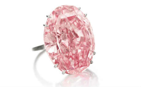 Pink Star 59 carat Pink Diamond Vivid Flawless