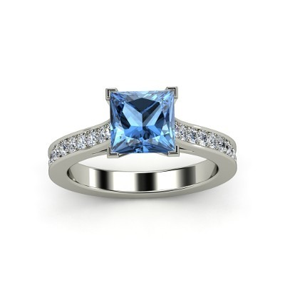 Ring with Blue Diamond Price Can be Expensive