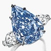 the blue loose Diamond