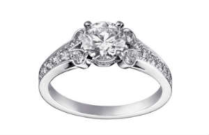 For a diamond wedding ring