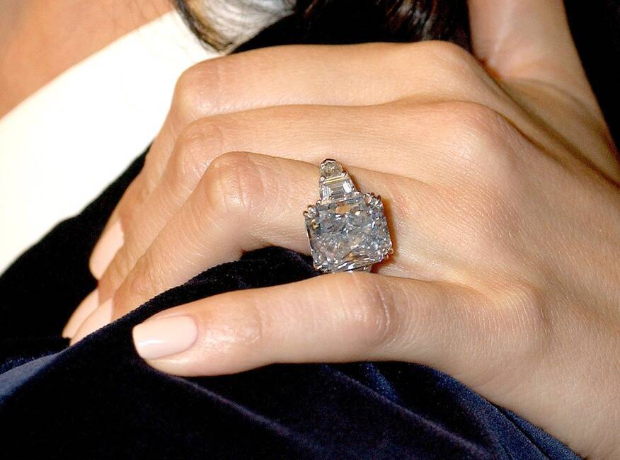 A diamond ring from Marc Anthony