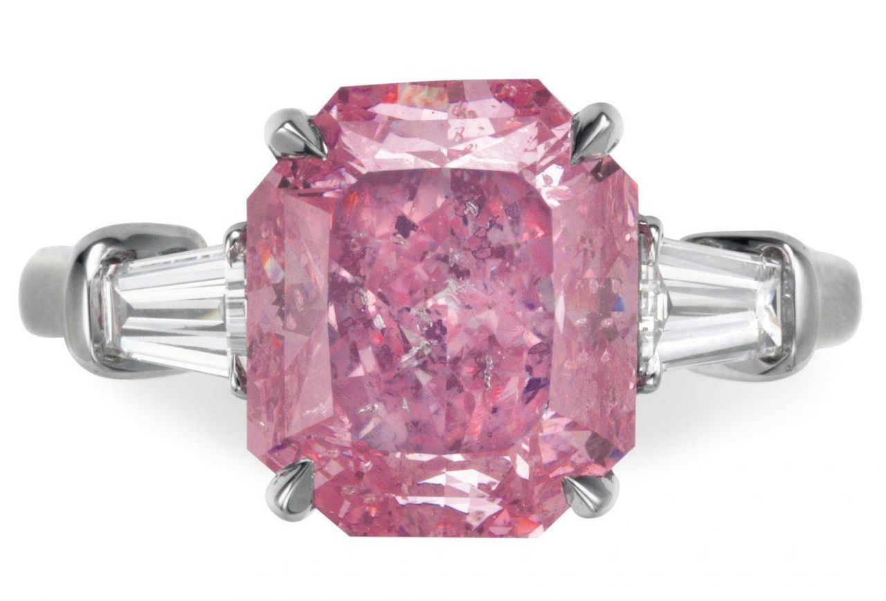 View more colored diamond highlights at Christie\'s auction