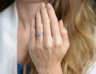 A guide for selecting ideal diamond engagement rings