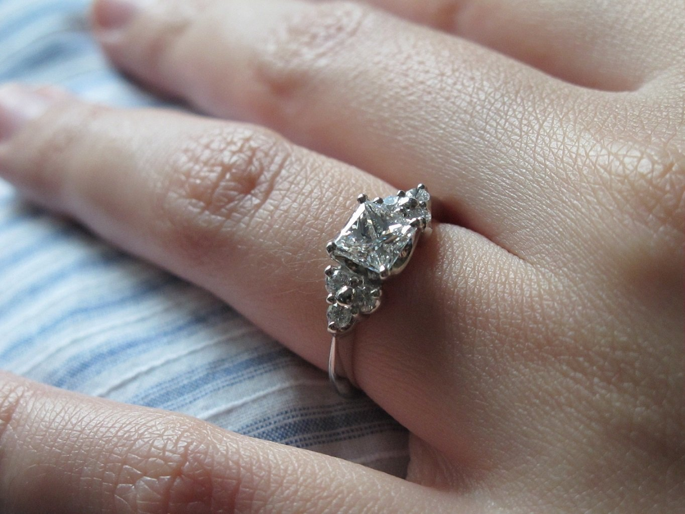 Gia Certified Diamond Eternity Ring