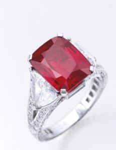 The Graff Ruby 8.62 carat