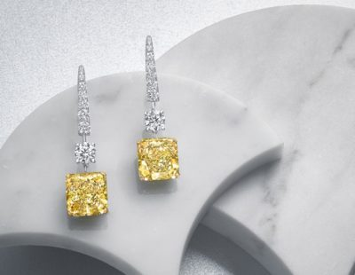 An insight into loose yellow diamonds
