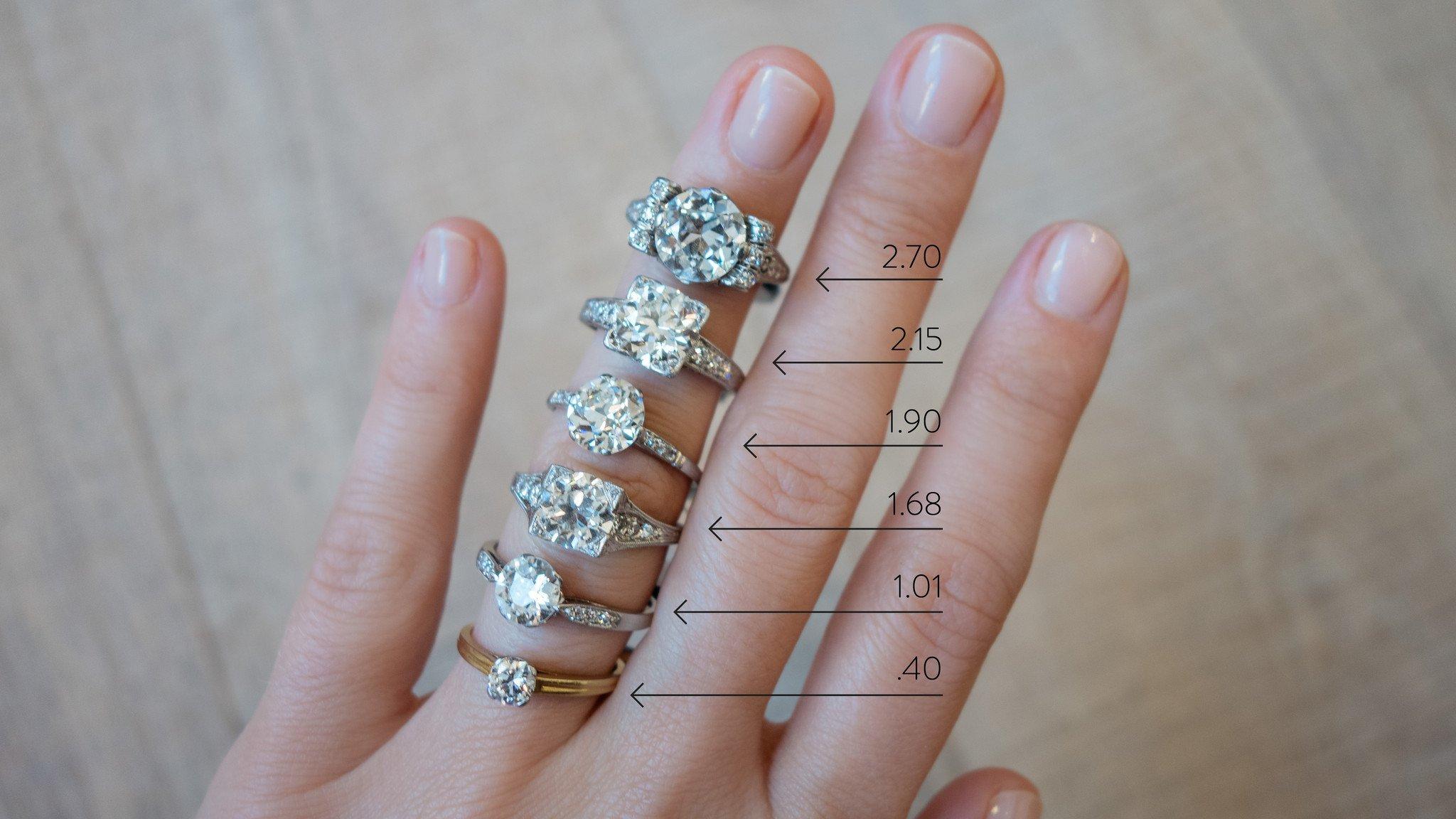 Carat Diamond Ring Jewelry Exchange
