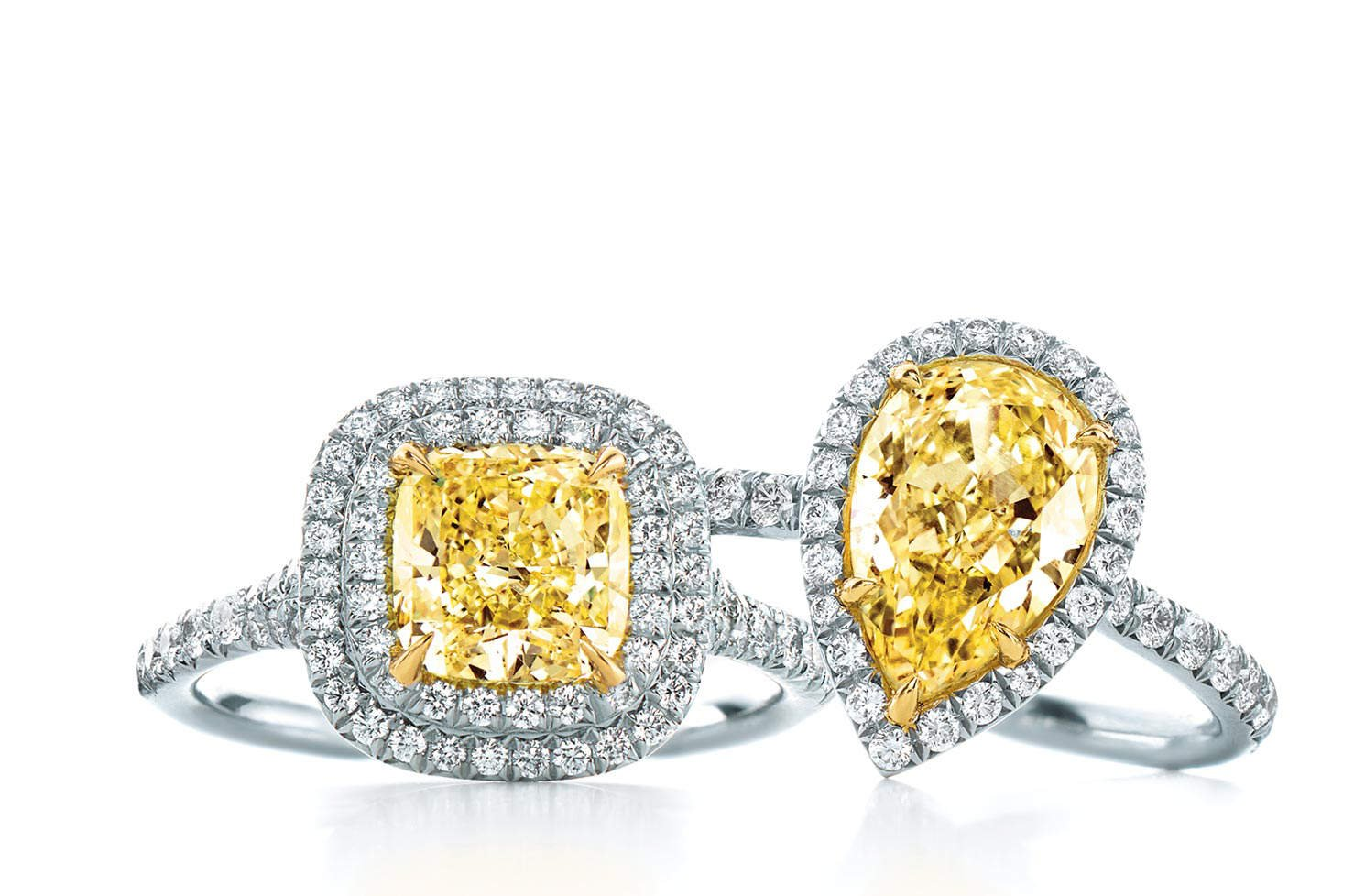 Yellow diamond engagement rings geenschuldenfo Images