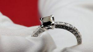 Black diamond rings