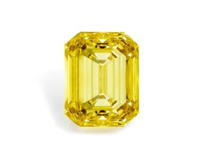 20ct. yellow diamond ring is up for auction