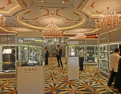 Top seller Bonhams HK -10 carat Pink Diamond